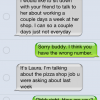 Wrong Number Text Trolling: The Pizza Shop