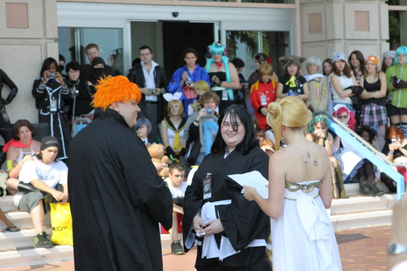 Cosplay Wedding At Metrocon 2011 Strange Beaver