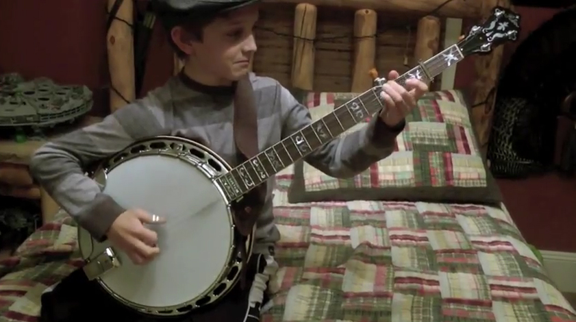 Little Kid Has Crazy Banjo Skills