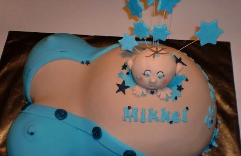 bad Baby Shower cake
