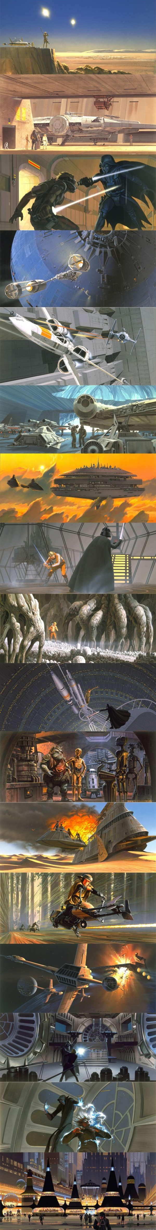 cool star wars concept art
