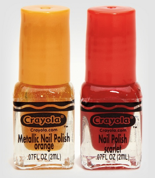 Crayola Releases Crayon-Inspired Nail Polish For The Retro