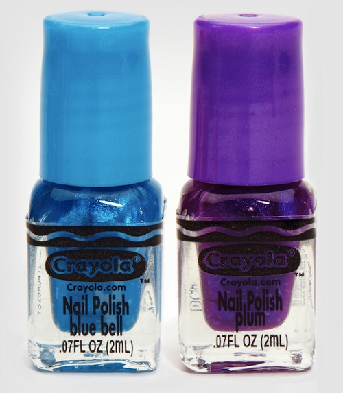 Crayola Releases Crayon Inspired Nail Polish For The Retro Geek Girl Strange Beaver