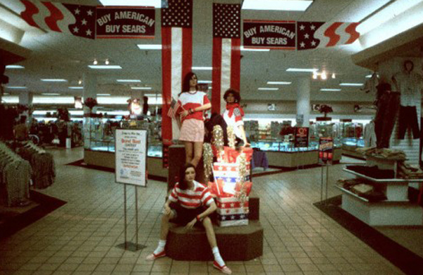 interesting 90s pictures from a mall