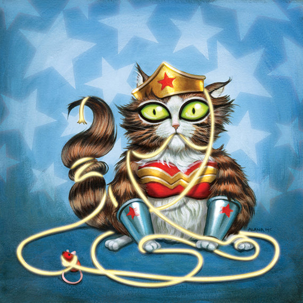 animals as super heroes