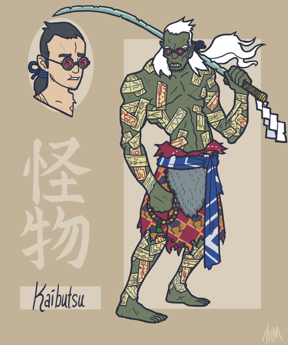 avengers as japanese warriors