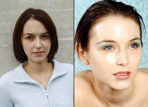 makeup before and after pictures