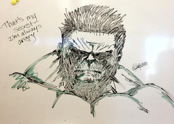 funny dry erase pictures