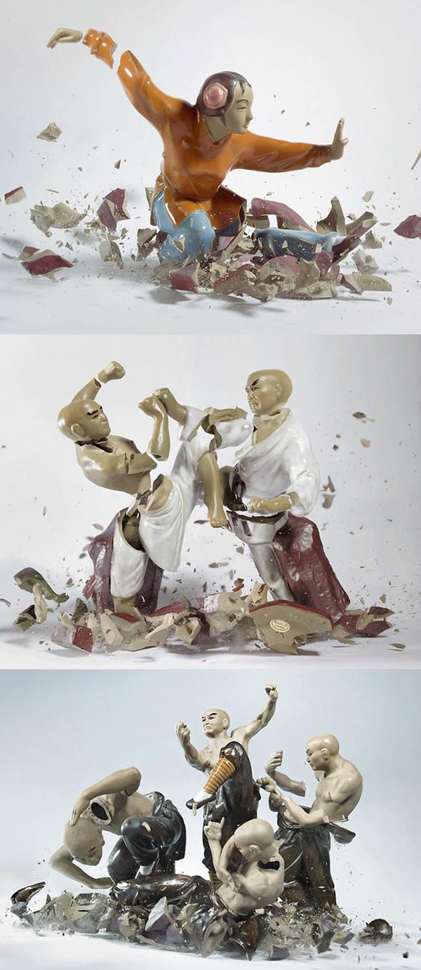 Broken Porcelain Art