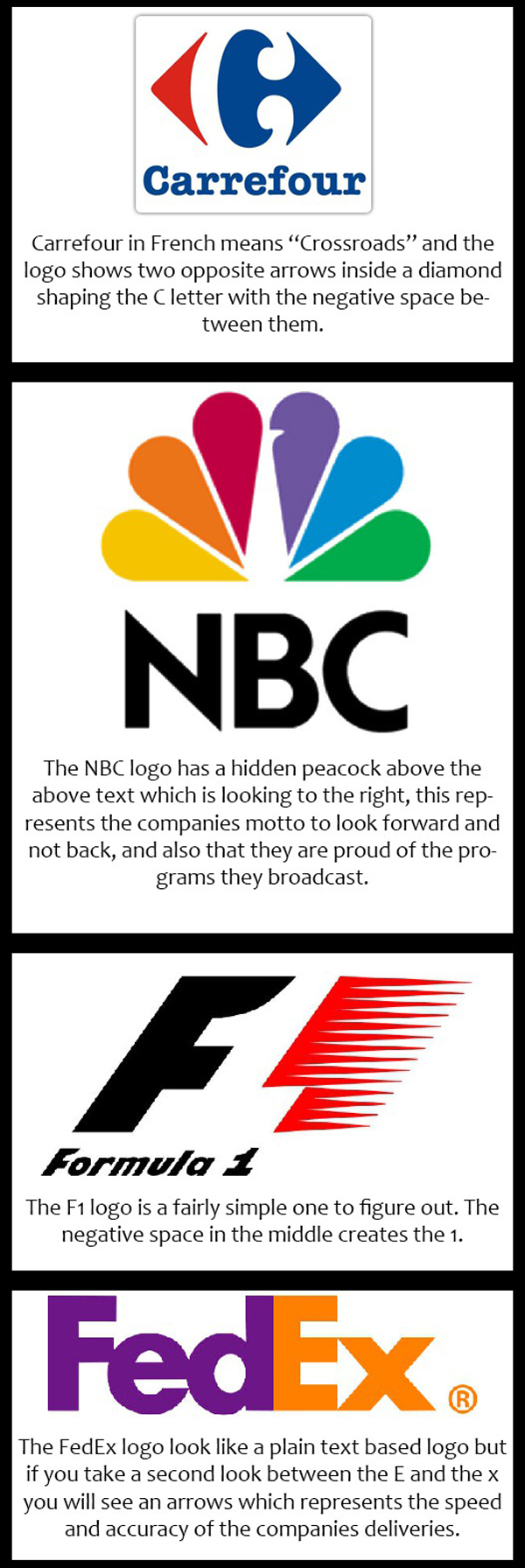 cool facts about company logos