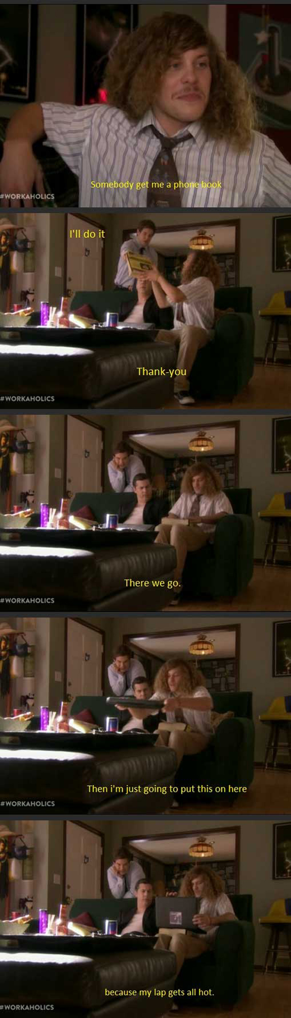funny workaholics picture