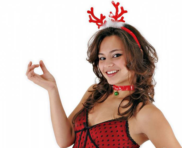 hot holiday girl