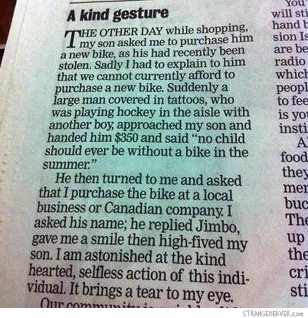 random acts of kindness faith in humanity restored