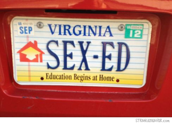 funy license plates