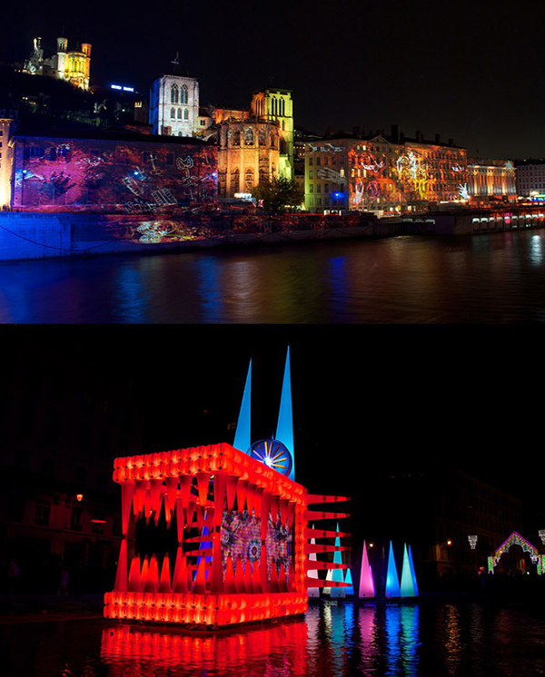 2012 festival of lights lyon france