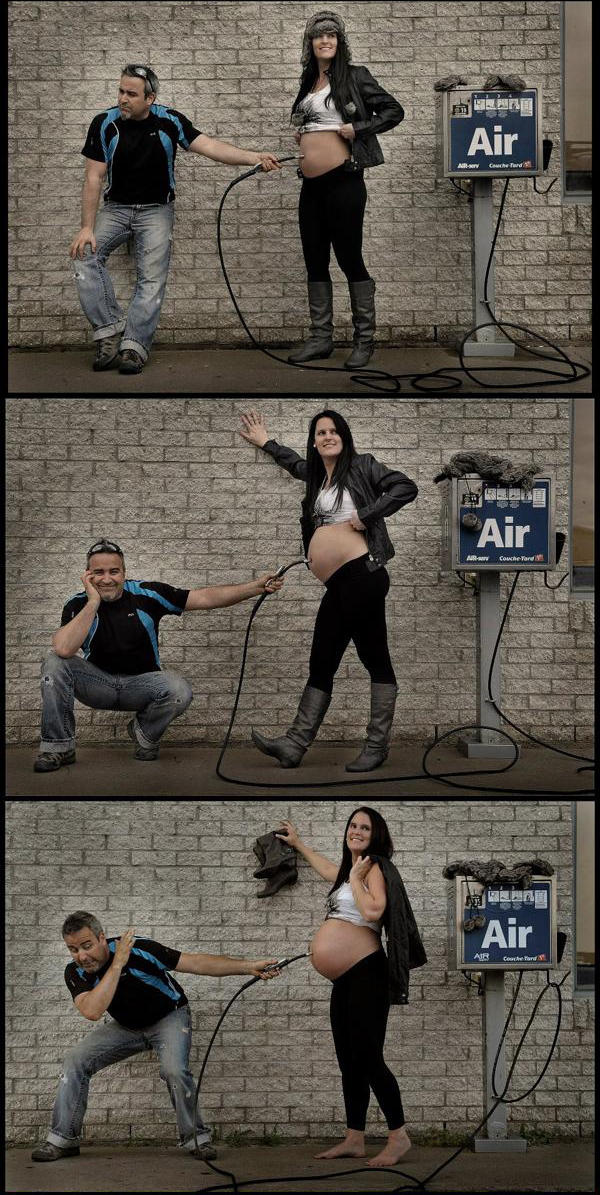 funy maternity pictures