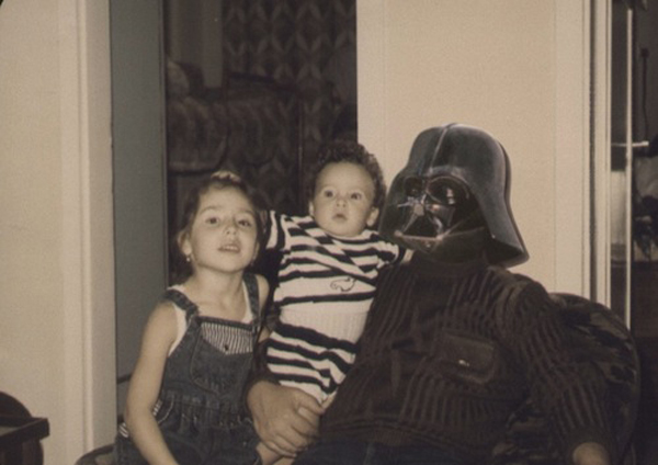 vintage star wars family photos