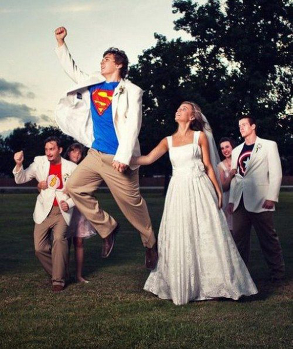 cool wedding photography