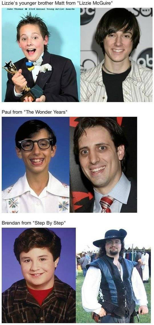 kid show celebrity then and now