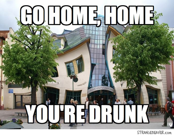 go home you're drunk meme