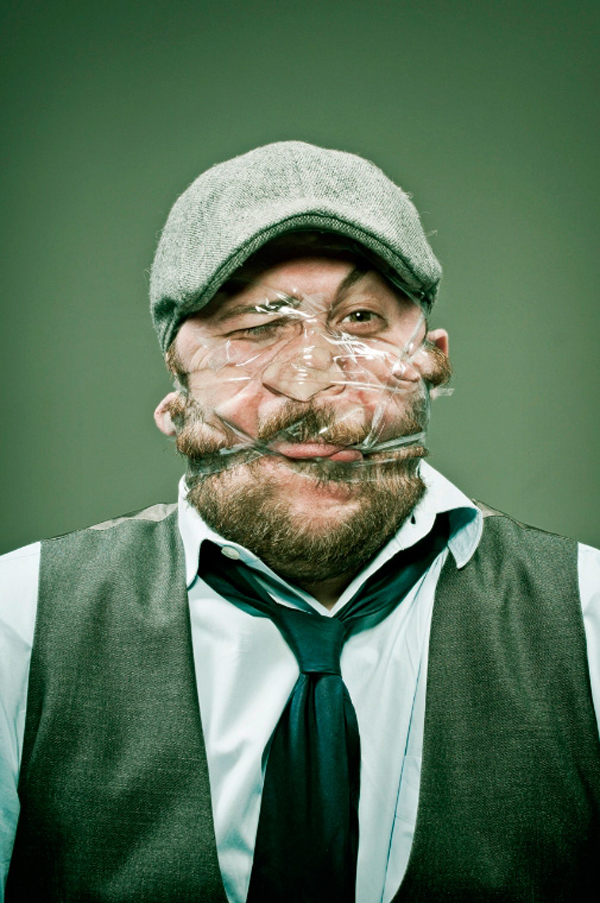 scotch tape face pictures