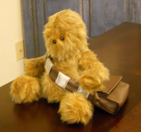 chewbacca teddy bear
