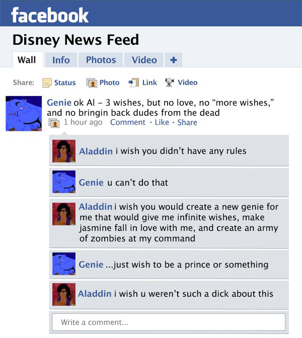 Facebook Fails – Disney Edition