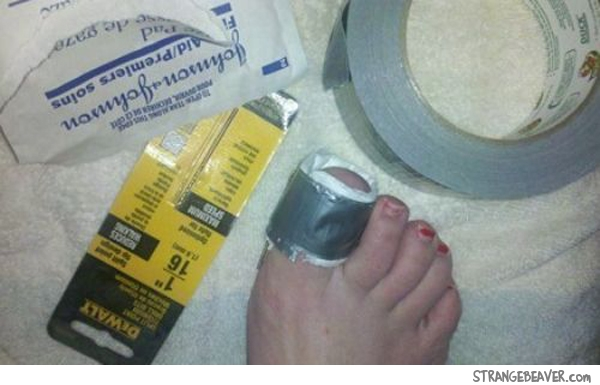 funny duct tape fixes