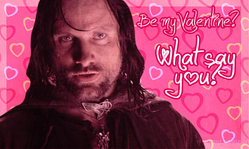 lord of the rings valentine
