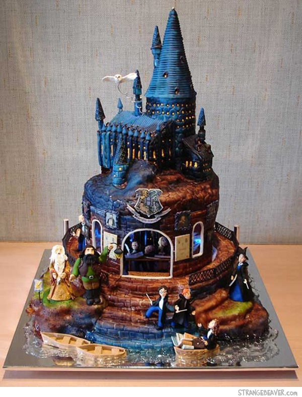cool artistic cake