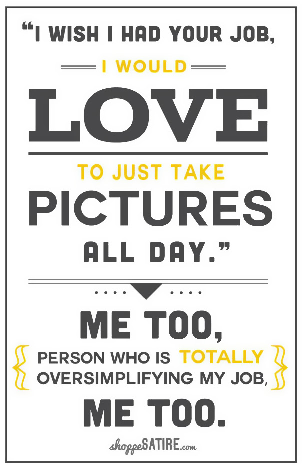 sarcastic photographer posters