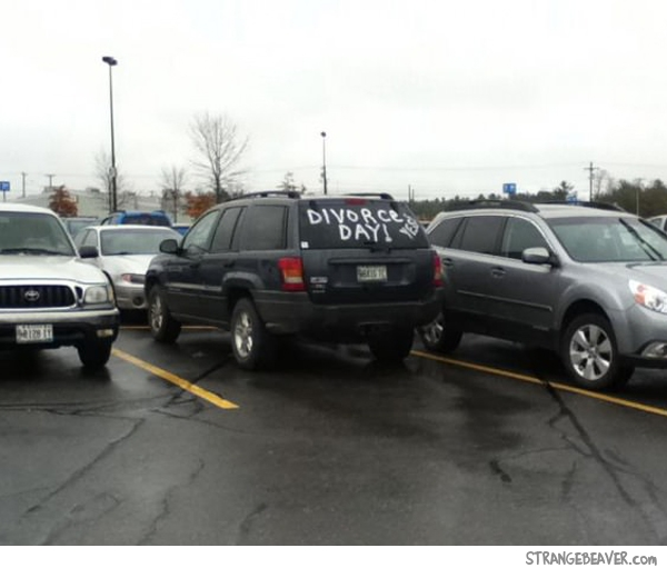 funny parking lot pictures