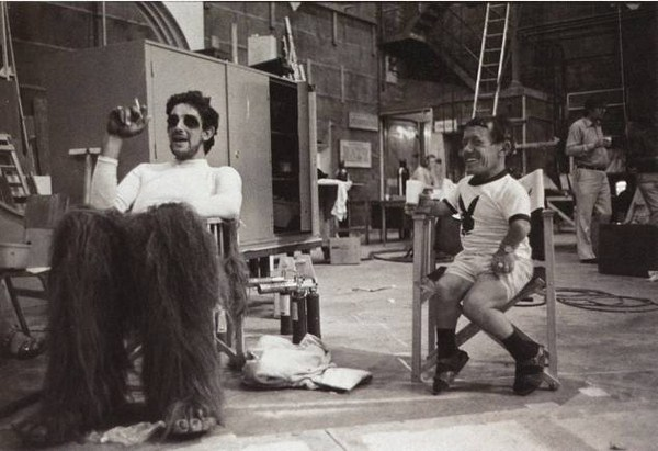 behind the scenes pictures from star wars
