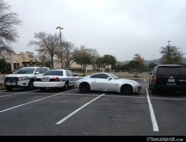 parking like a jerk
