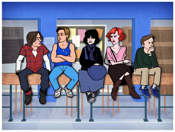cartoon versions of famous movies