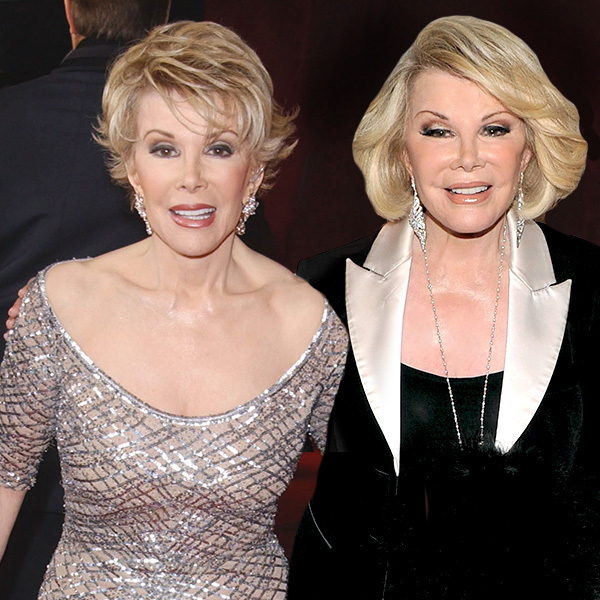 Celebrities Posing With Younger Versions Of Themselves-Joan Rivers