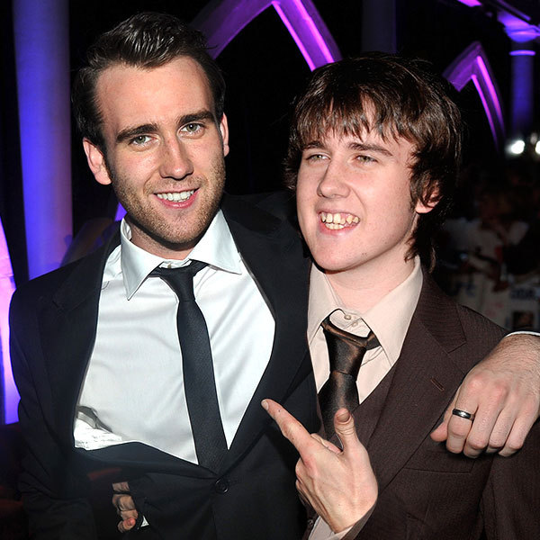 Celebrities Posing With Younger Versions Of Themselves-Matthew Lewis