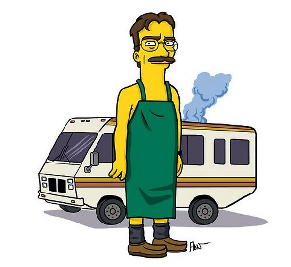 breaking bad simpsonized