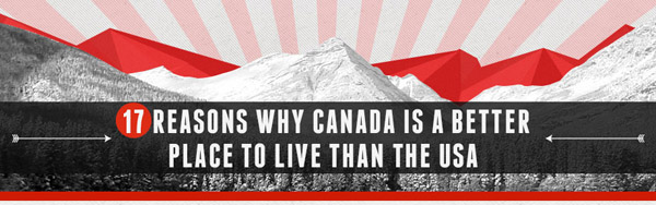 why canada is a better place to live than the us