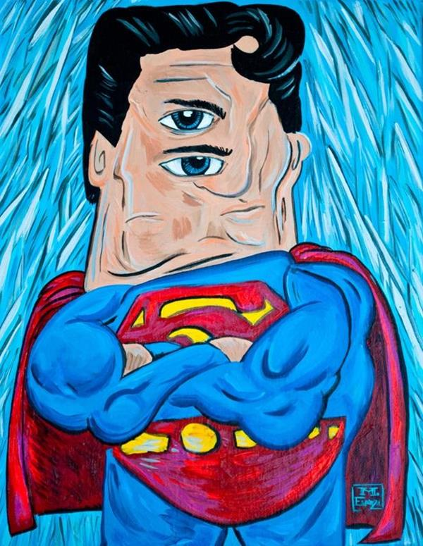 comic book characters by picasso