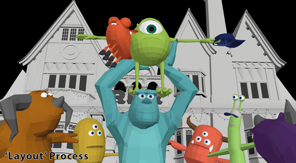 monsters university art