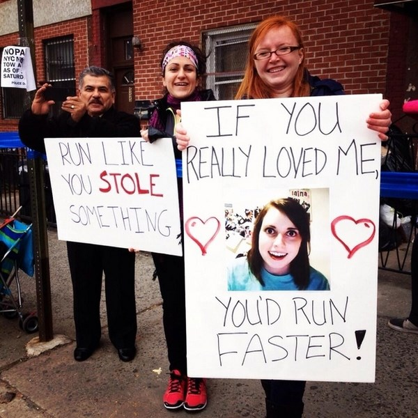 funny nyc marathon 2013 sign
