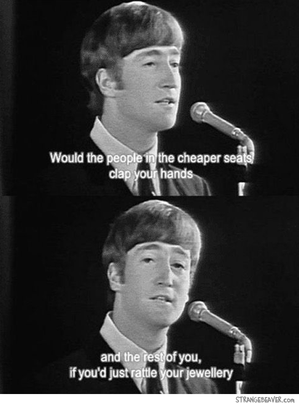 Funny Beatles interview