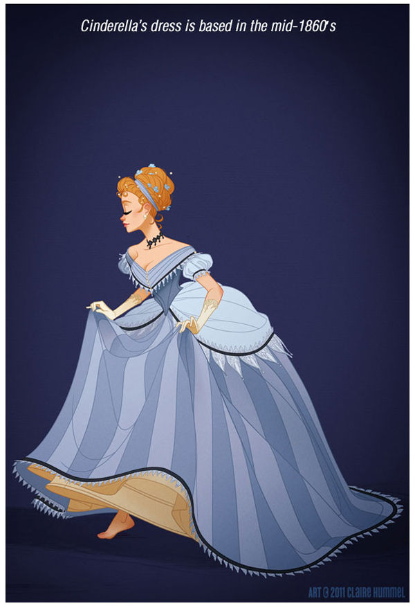 disney princess in historically accurate outfit