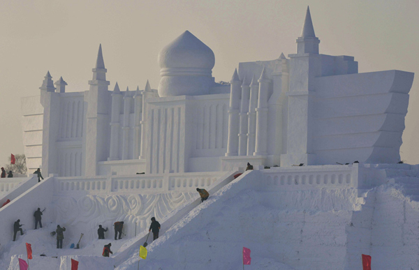 harbin snow and ice festival 2014
