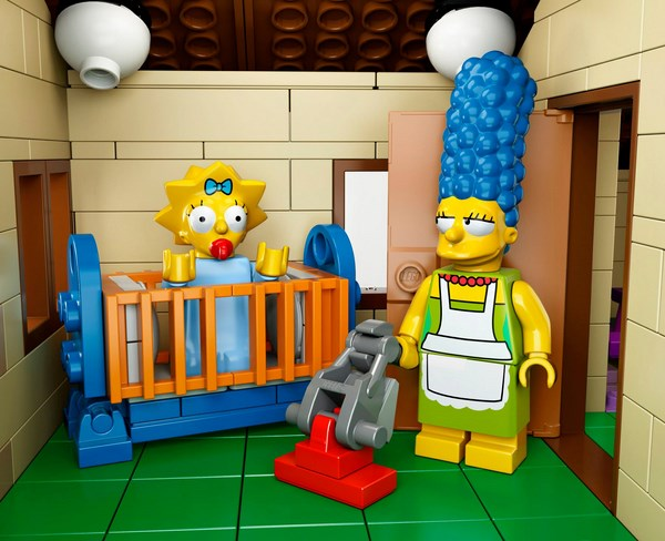 lego simpsons set 71006