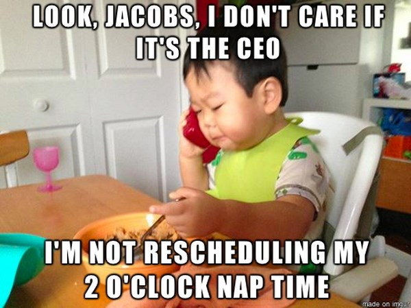 business baby meme