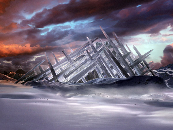 Famous Movie Houses In LEGO