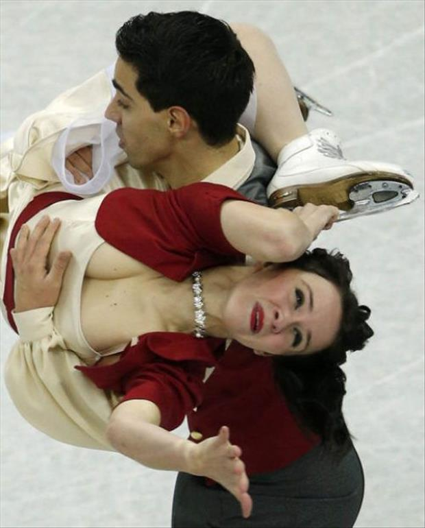 funny olympic figure skaters