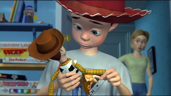 andy and woody - toy story